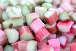 Rhubarb is a tart delicious reminder that spring is here.