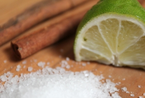 Limes, cinnamon and salt are three things I love to cook with that are not grown/sourced in the Midwest.