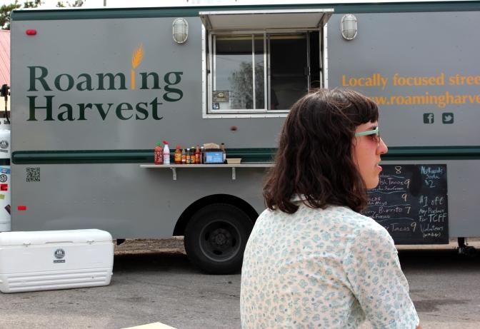 Roaming Harvest food truck in Traverse City MI